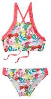 Tommy Bahama Floral Ruffle 2-Piece Swimsuit (Big Girls)
