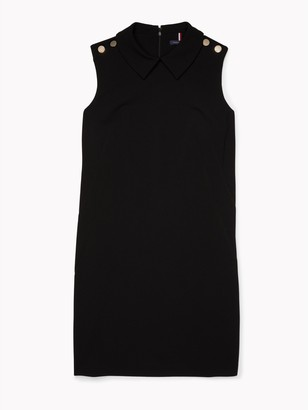 Tommy Hilfiger Essential Sleeveless Tipped Collar Dress