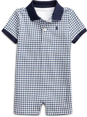 Ralph Lauren Houndstooth Cotton Shortall
