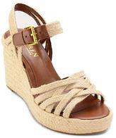 Lauren Ralph Lauren Henna Espadrille Crisscross Wedge Sandals