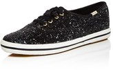 Kate Spade x Keds Glitter Lace Up Low Top Sneakers
