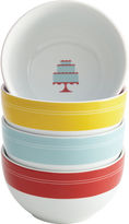 JCPenney CAKE BOSS Cake BossTM Set of 4 Porcelain Ice Cream Bowls - Mini Cakes