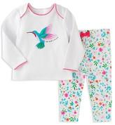 Kate Spade Girls' Hummingbird Pajama Set - Baby