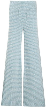 Hellessy Knitted Wide-Leg Trousers