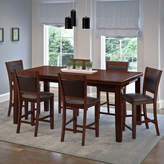 Asstd National Brand 7-pc. Counter Height Extendable Dining Set