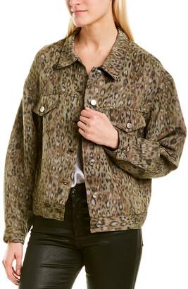IRO Empathy Linen-Blend Jacket