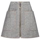 Acne Studios Prisca Cotton Miniskirt