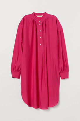 H&M Silk-blend tunic