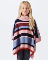 Jigsaw Knit Stripe Poncho