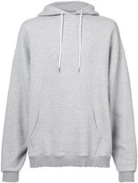 R 13 distressed hoodie