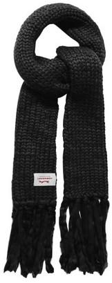 Charles Jeffrey Loverboy Super Massive Oversized Wool-blend Scarf - Black
