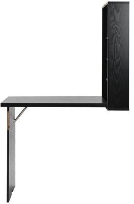 Red Barrel Studio Bilow Floating Desk Color: Black