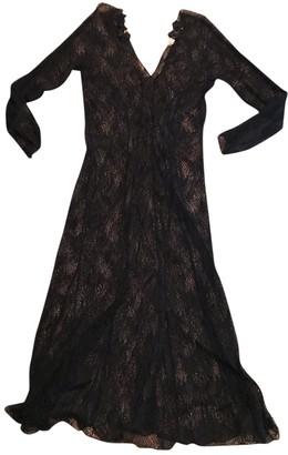 Anna Molinari Black Cotton Dress for Women