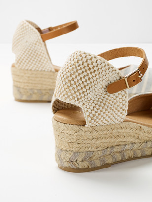 White Stuff Sammy Canvas Espadrille Wedge