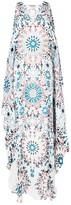 Roberto Cavalli graphic tunic dress