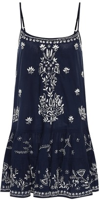 Juliet Dunn Exclusive to Mytheresa a Embroidered cotton dress