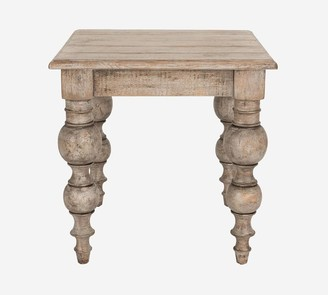 """Pottery Barn Bander 24"""" Reclaimed Wood End Table"""