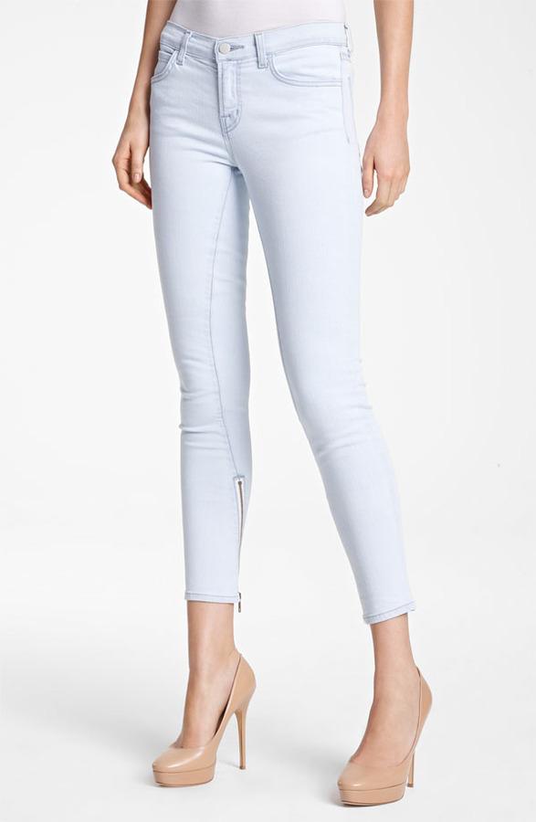 Christopher Kane J Brand + Skinny Stretch Jeans