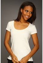 Kenneth Cole New York - Sequin T-Shirt (Ivory) - Apparel