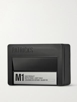 Patricks M1 Matte Finish Light Hold Pomade, 75ml