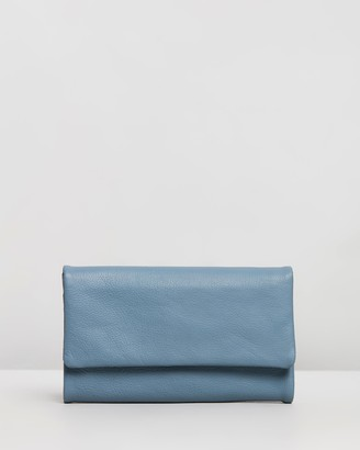 Stitch & Hide - Women's Blue Trifold - Paiget Wallet - Size One Size at The Iconic