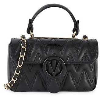Valentino By Mario Valentino Poisson Quilted Leather Crossbody Bag
