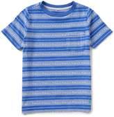 Joules Little Boys 5-6 Eliot Striped Jersey Pocket Tee