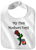 MY FIRST MOTHER'S DAY - BigBoyMusic Baby Designs - Bibs - Bib