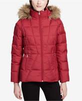 Calvin Klein Faux-Fur-Lined Down Coat