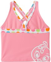 Angry Birds Stella Girls' Fly Girl Halter Tankini Top (4yrs6X) - 8132849
