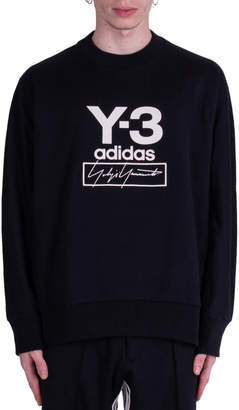 Y-3 Y 3 Stacked Logo Crew Sweater