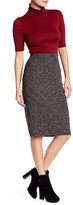 Max Studio Ribbed Marled Knit Skirt