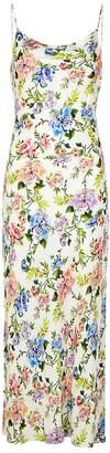 Alice + Olivia Harmony floral-print midi dress