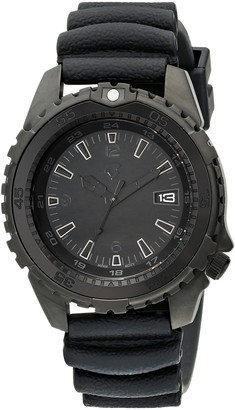 "Momentum Men's 1M-DV66B1B ""Deep 6 Vision"" Stainless Steel Black Watch"