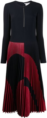 Stella McCartney Pleated Midi Dress