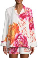 Natori Bali Floral-Print Shorty Pajama Set
