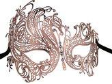 Metal Lady Masquerade Mask Halloween Mardi Gras Party Mask