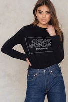 Cheap Monday Win Thin Box Sweat