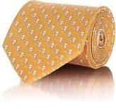Salvatore Ferragamo Men's Panda-Print Silk Necktie