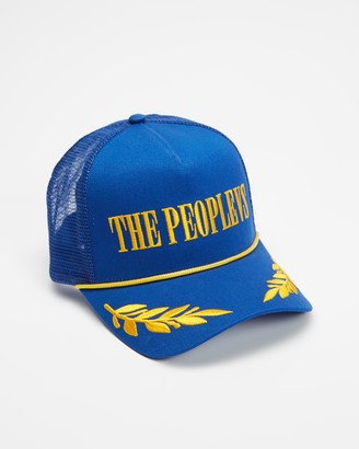 The People Vs. Yellow Caps - Embroidered Trucker Hat - Size One Size at The Iconic