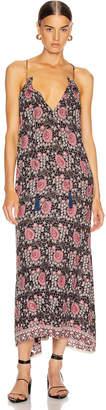 Natalie Martin Marlien Maxi Dress in Vintage Flowers Violet | FWRD