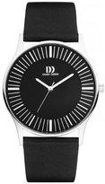 Danish Design Men's 42mm Leather Band Steel Case Quartz Analog Watch IQ13Q1006