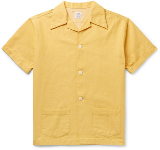 Levi's Denim Family Camp-Collar Cotton Shirt