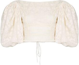 Johanna Ortiz hazel reflection embroidered blouse