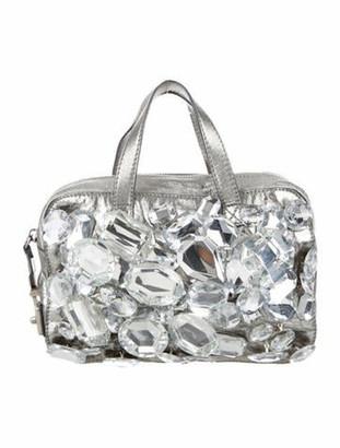 Marc Jacobs Embellished Robert Bag Metallic
