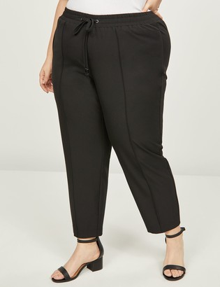 Lane Bryant Tailored Stretch Pull-On Ankle Pant