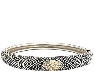 Candela Andrea Linea 18K & Silver 0.27 Ct. Tw. Diamond Bangle