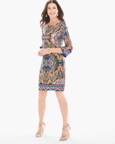 Chico's Paisley Print Short Dress