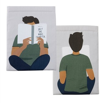 Indigo Paper The Book Bestie Reading Boy Book Sleeve