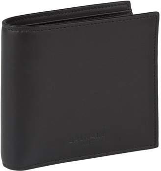Balmain Leather Bifold Wallet